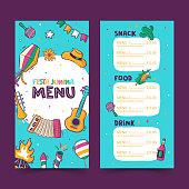 istock Festa Junina menu template 1315895730