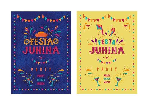 Festa junina party design