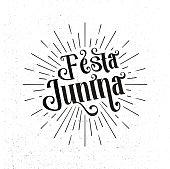 Festa Junina. Traditional Brazil June festival party holiday