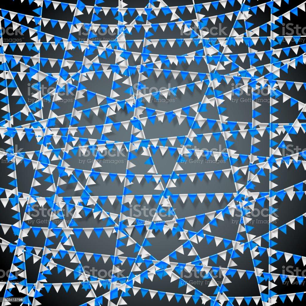 Festival bandera bg - ilustración de arte vectorial
