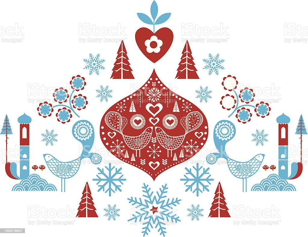 festive decoration royalty-free stock vector art