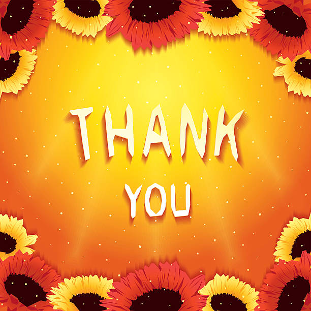thank sunshine sunny clip illustrations wishes festive vector