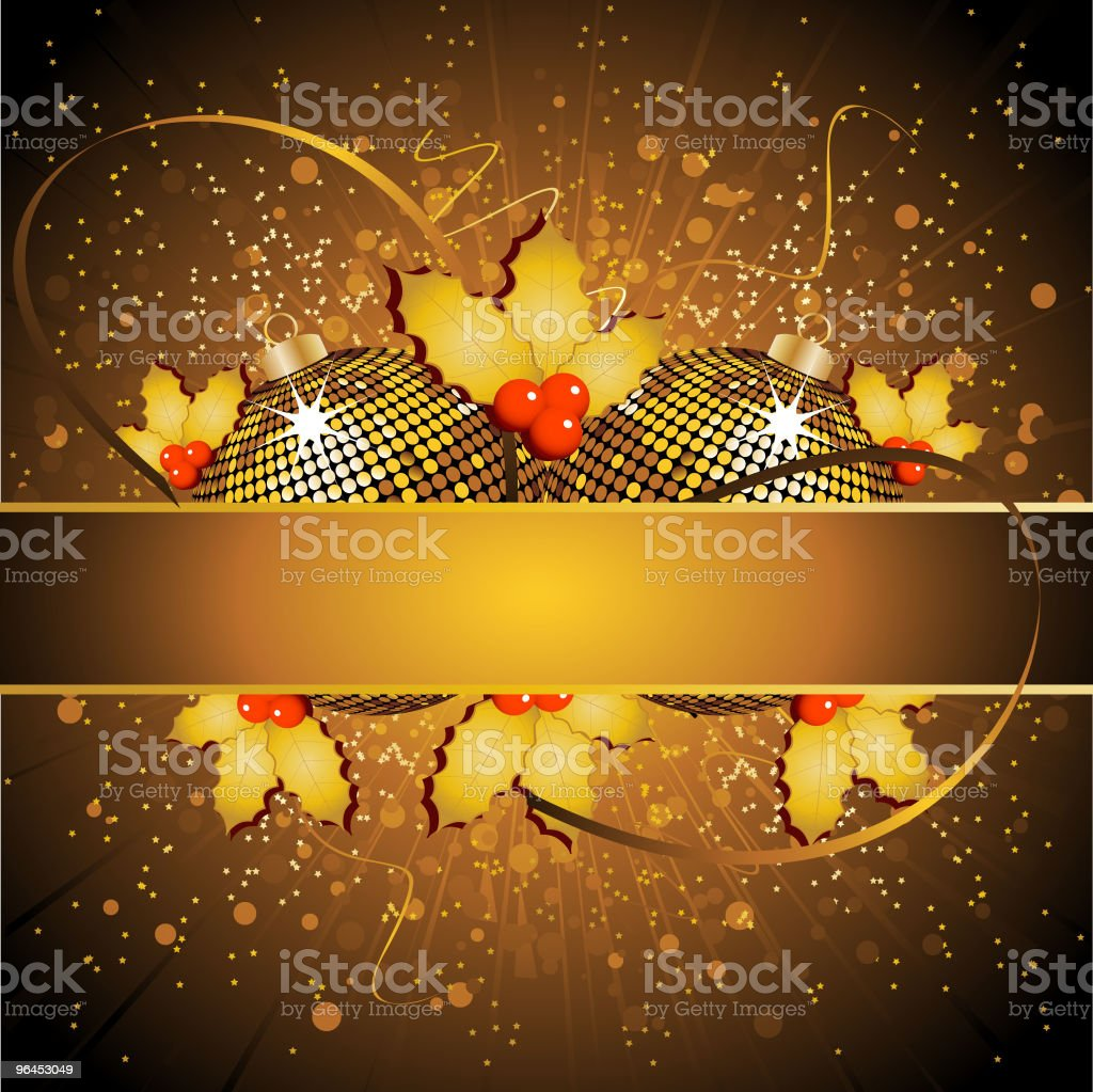 Festive gold background royalty-free stock vector art