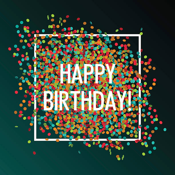 Bекторная иллюстрация Праздничный пакет услуг «happy birthday»