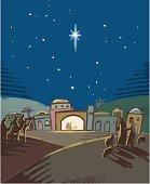 istock Festive Nativity scene 495599616