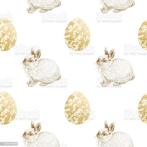 Festive seamless pattern with easter eggs and bunnies print gold foil vector id1126444164?b=1&k=6&m=1126444164&s=612x612&h=7wzfezk d6f4sfc2ch2udhsytlzfx wmsylyobwyjne=