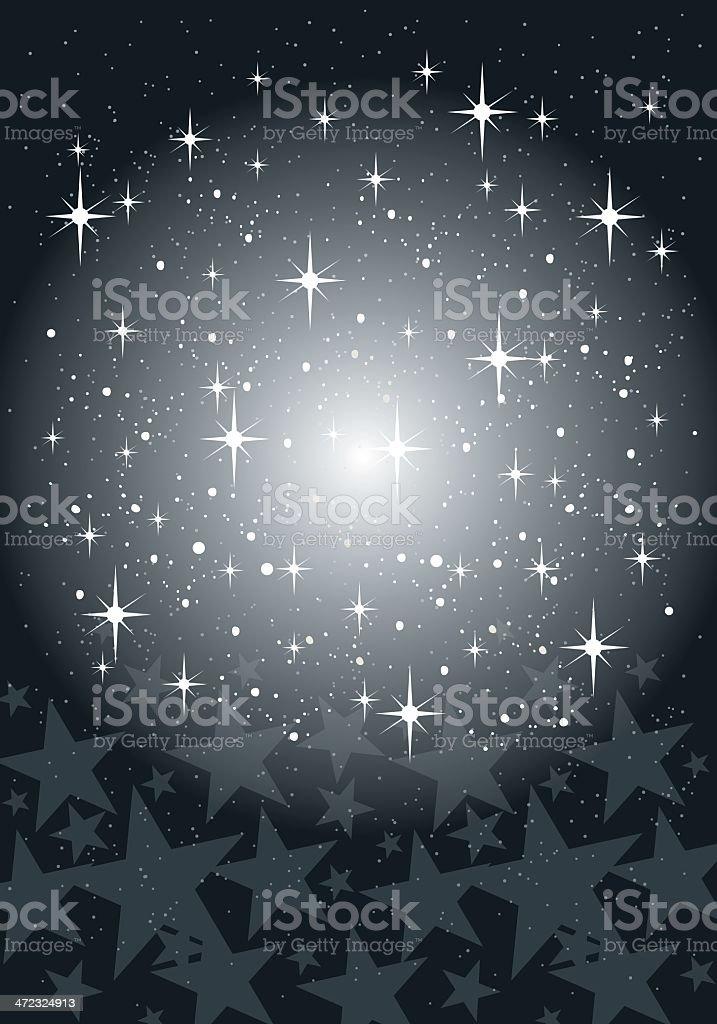 Festive Star Background royalty-free stock vector art