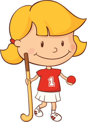 Field Hockey Girl