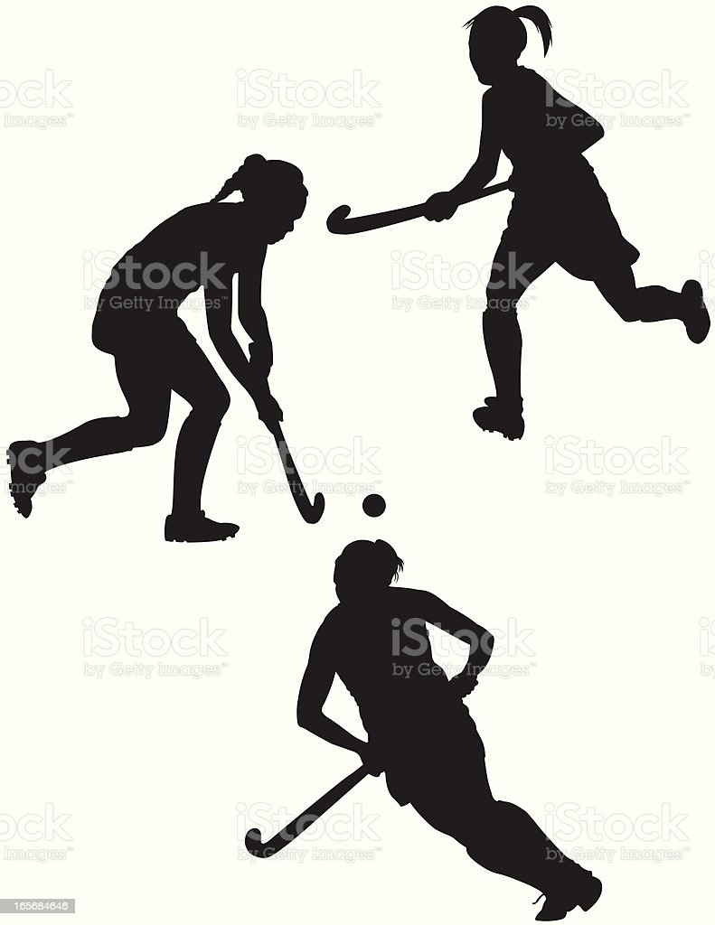 Field Hockey player – Vektorgrafik