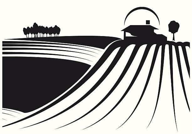 Best Modern Farm House Illustrations, Royalty-Free Vector ...