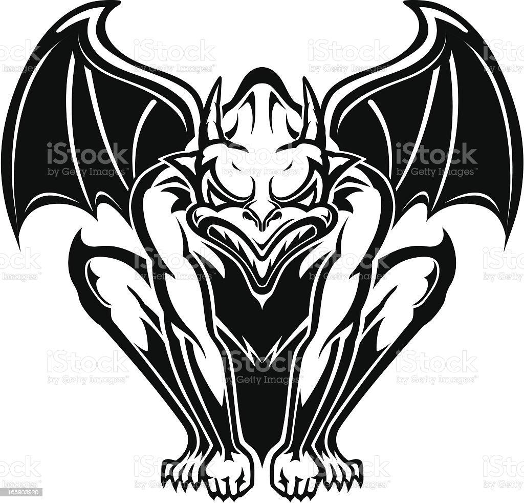 royalty free gargoyle clip art vector images illustrations istock rh istockphoto com Gargoyles Logo gargoyle clipart free