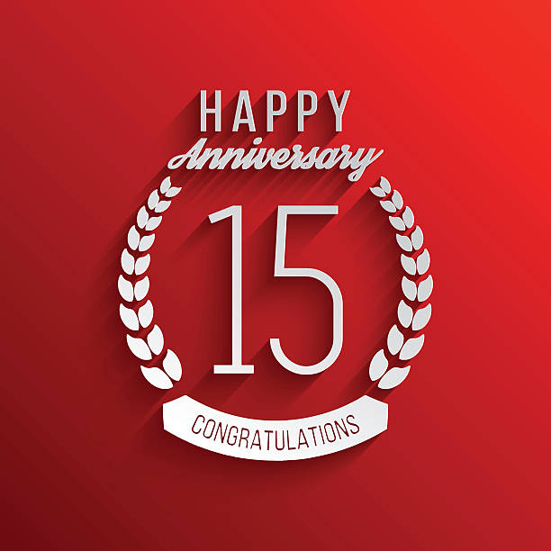 Royalty Free 15th Anniversary Party Clip Art Vector Images
