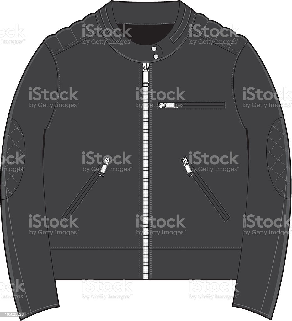 Fifties Vintage Biker Jacket royalty-free fifties vintage biker jacket stock vector art & more images of 1950-1959