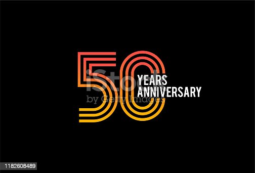 Fifty Year anniversary design