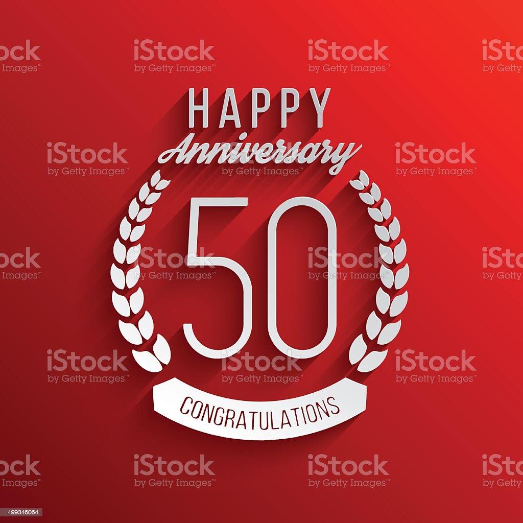 50 Ans Anniversaire Logotype 50 Eme Anniversaire Du Logo Cliparts