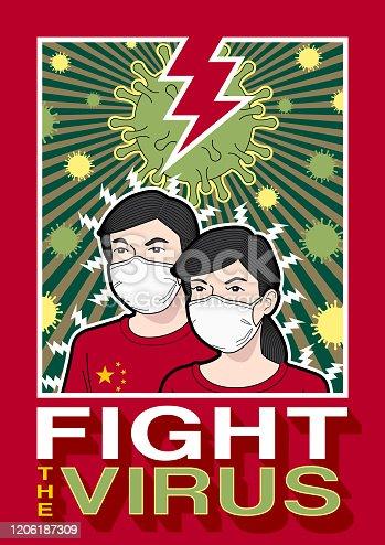 istock Fight the virus 1206187309