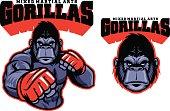 MMA fighter gorilla