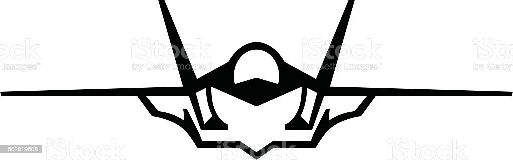 fighter jet vector icon stock vector art 502819608 istock