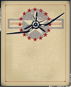 WW II Fighter Plane Background - Air Force, Armed Forces
