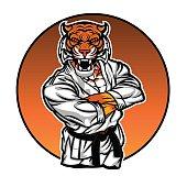 MMA fighter tiger.