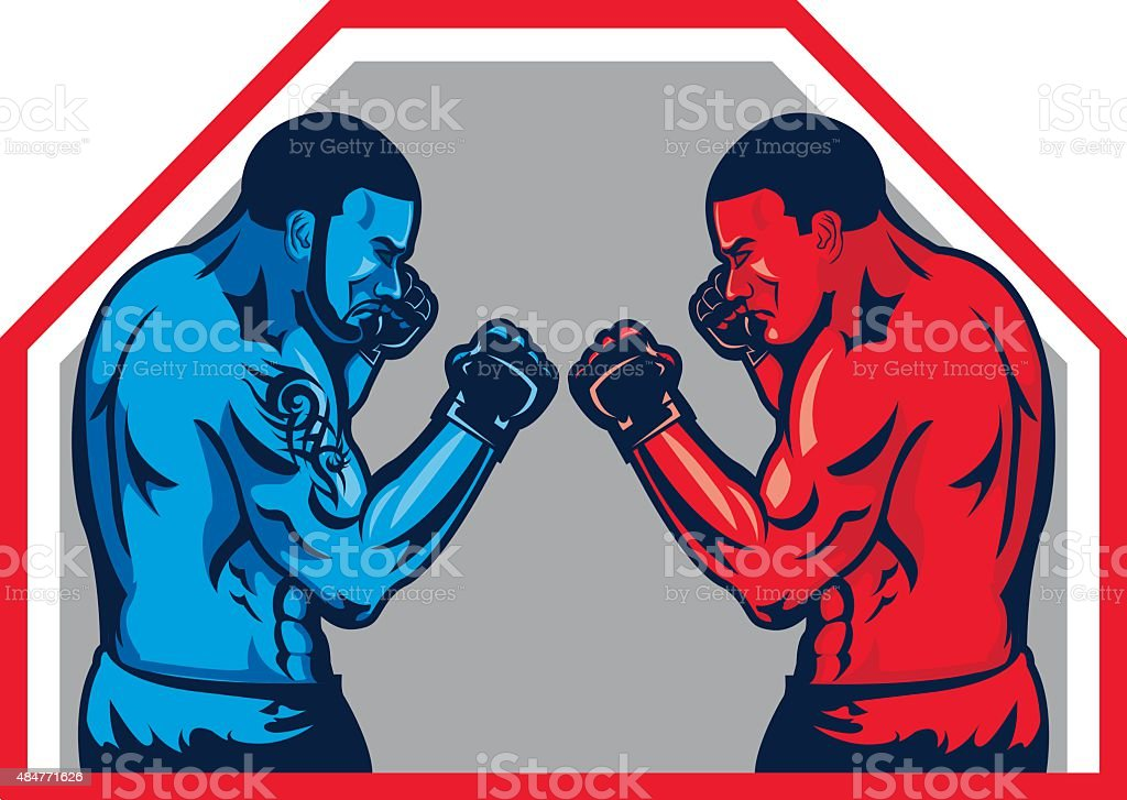 royalty free mma clip art vector images illustrations istock rh istockphoto com  mma fighters clipart