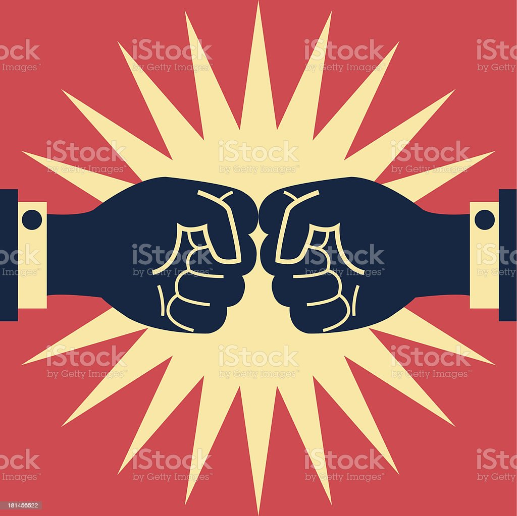 Fighting business royalty-free fighting business stock vector art & more images of abstract