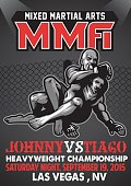 MMA fighting poster