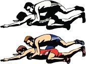 fighting wrestlers
