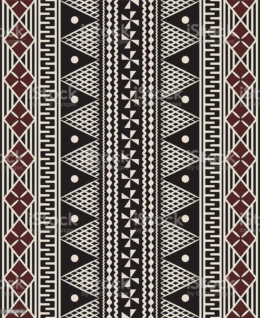 Fijian tapa pattern royalty-free fijian tapa pattern stock vector art & more images of backgrounds
