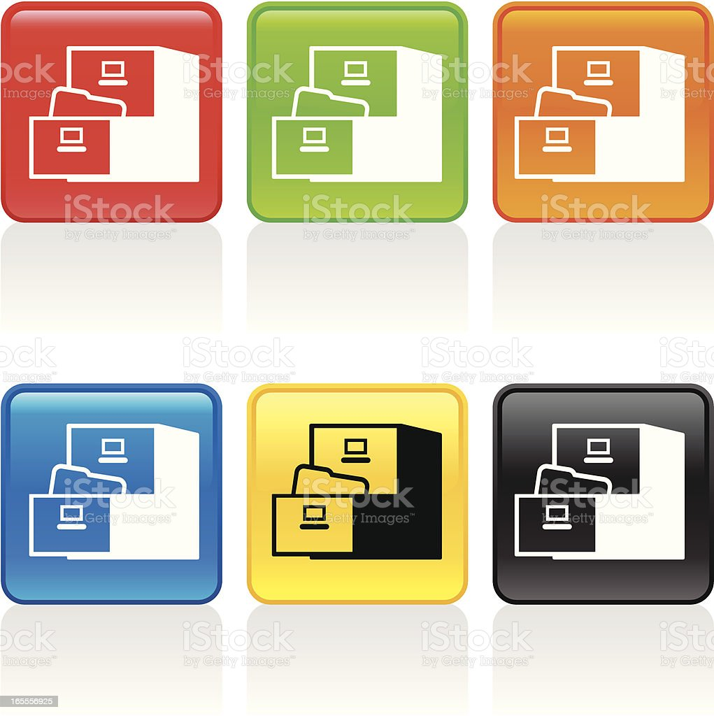 File Cabinet Icon royalty-free file cabinet icon stock vector art & more images of archives