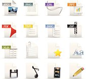 File Format and Document Icons