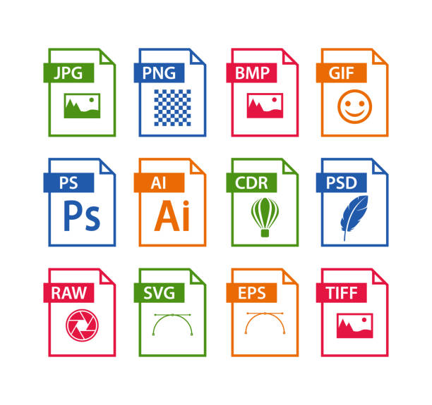file format icon set. images file type icons. pictures file format icons file format icon set. images file type icons. pictures file format icons svg stock illustrations