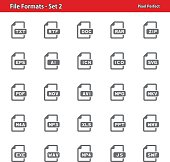 File Formats Icons - Set 2