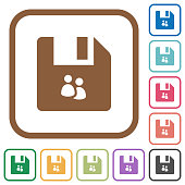 File group simple icons