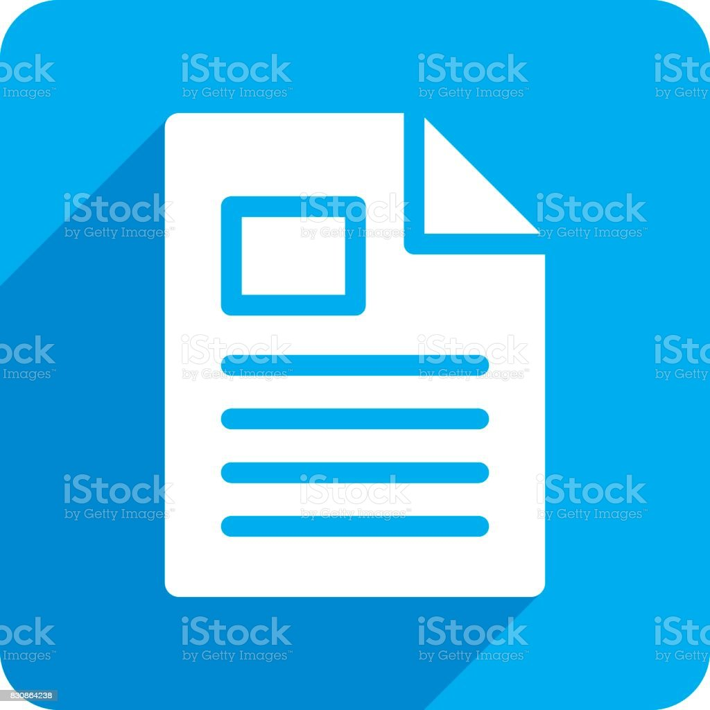 File Icon Silhouette