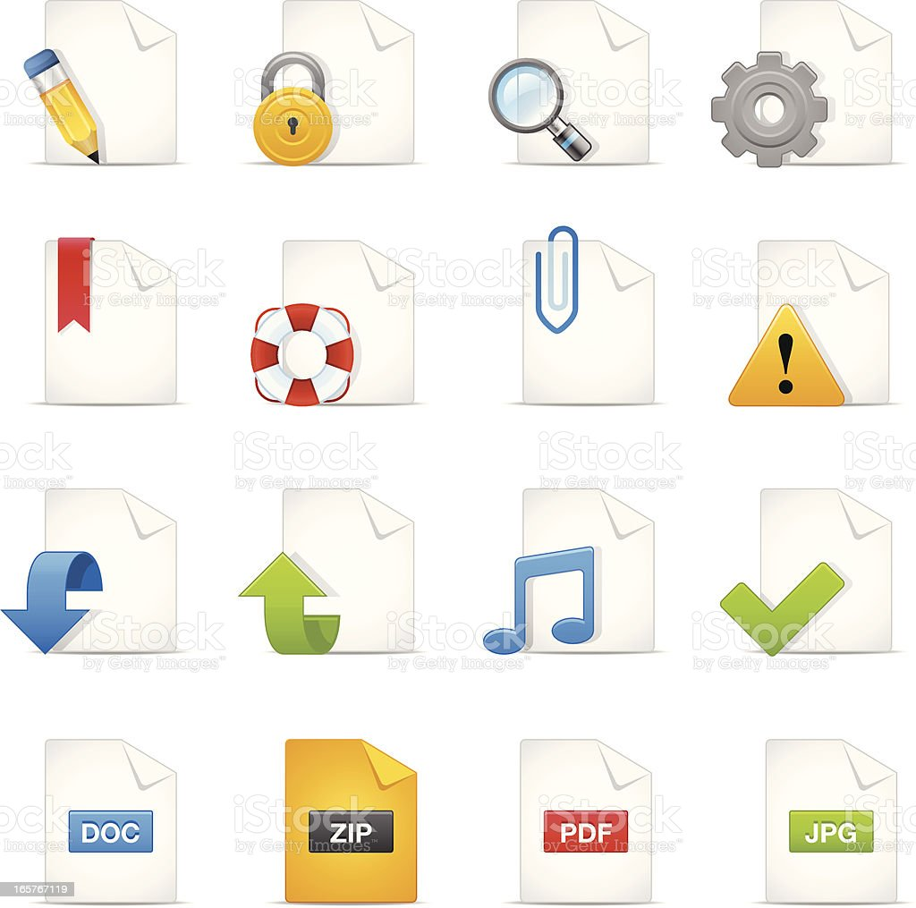 File Icons royalty-free file icons stock vector art & more images of arrow symbol