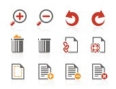 File manipulations icons | Sunshine Hotel series