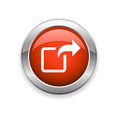 istock File Sharing Glossy Icon 1265060063