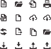 File Transfer Symbols
