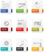 File type icons: Office pack
