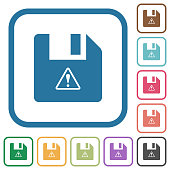 File warning simple icons