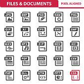 istock Files & Documents Icons 1036071388