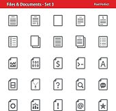 Files & Documents - Set 3
