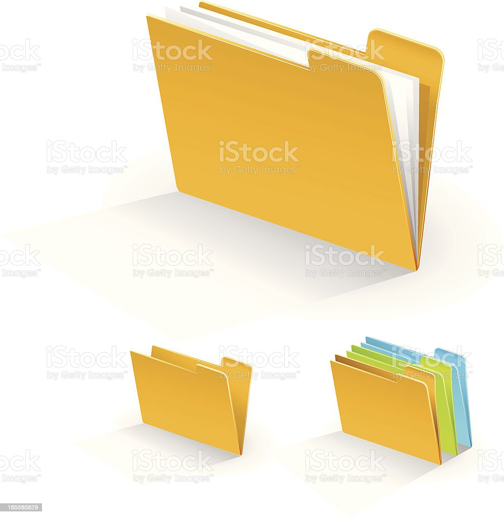 Files Folders royalty-free files folders stock vector art & more images of authority