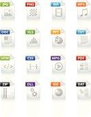 Filetype icon set