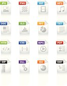 Filetype icon set