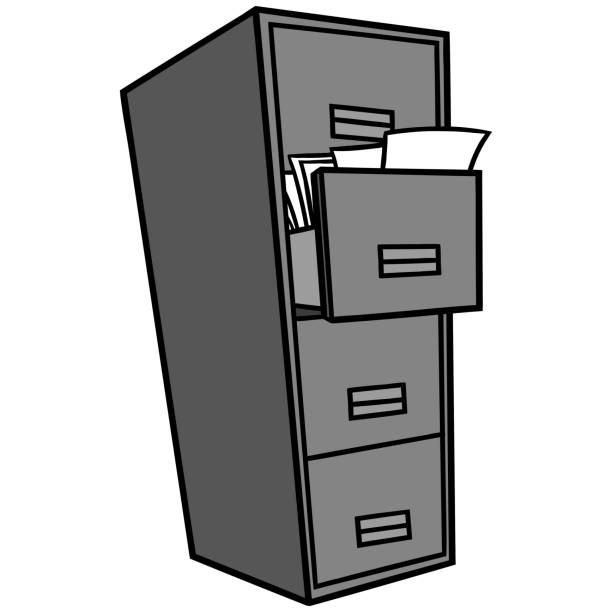 File Cabinet Clip Art: Top 60 Filing Cabinet Clip Art, Vector Graphics And