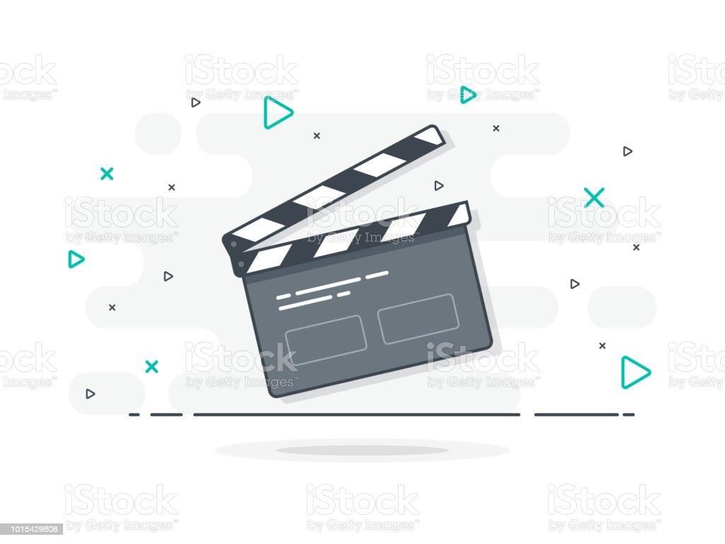 Videokameraicon Stock Vektor Art und mehr Bilder von Aufnahmestudio - iStock