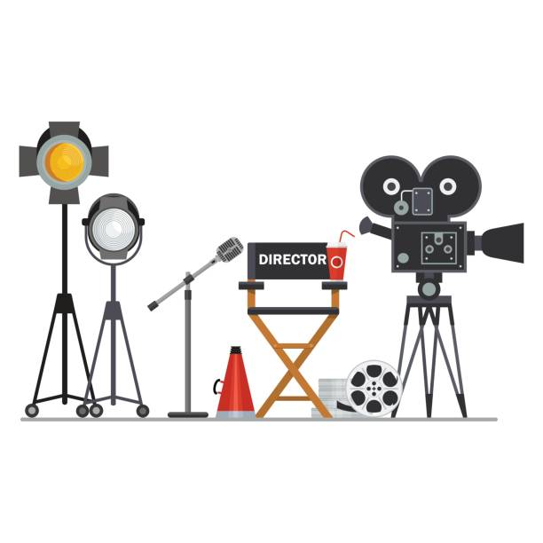 Image result for movie director clipart