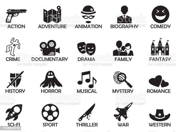 Movie Genres Vector Art & Graphics | freevector.com